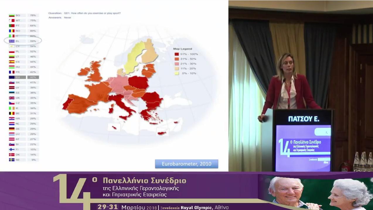 Ομιλία από το14ο Πανελλήνιο Συνέδριο Γηριατρικής & Γεροντολογίας
